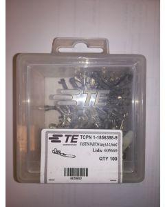 FASTIN FASTON lang 6.3 pour câble 2.5mm² - Boite de 100pcs