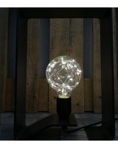 """Ampoule Globe G95 """"Happy In"""" 1,5W E27 3000K Lumière douce"""