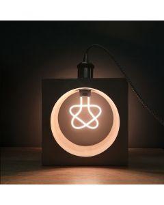 """Ampoule Silhouette """"Étoile"""" Filament LED 8W"""