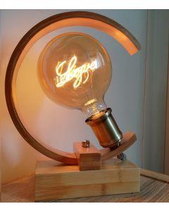"""Ampoule Écriture """"LOVE"""" LED E27 Ø125mm Ambrée"""