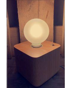 Ampoule Globe LED 5W E27 Blanc chaud 470lm Satiné