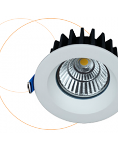 LITED  - Downlight LED WASH 7W IP65 fixe 3000k +driver