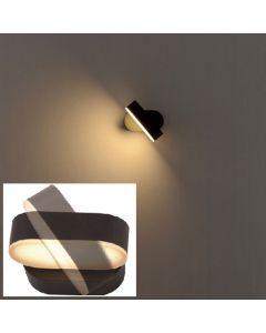 Eclairage résidentiel LED - 7.5W - Noir Orientable
