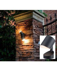 Lampadaire résidentiel applique murale LED 12.5W- noire