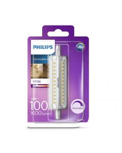 Philips - Ampoule LED R7S 14W=100W Dimmable