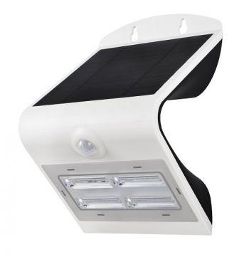 Projecteur Solaire avec détecteur de présence - Blanc