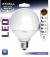 Ampoule Globe LED 16W=100W Lumière froide