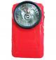 Lampe de poche Vintage LED Métal Rouge