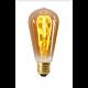 Edison Filament LED LOOPS 4W E27 2000K 200Lm Dim. Amb.