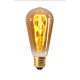 Edison Filament LED LOOPS 4W E27 2000K 200Lm Dim. Ambré