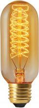Tube Filament Métallique Spiralé 40W E27 2000K 160Lm Ambré